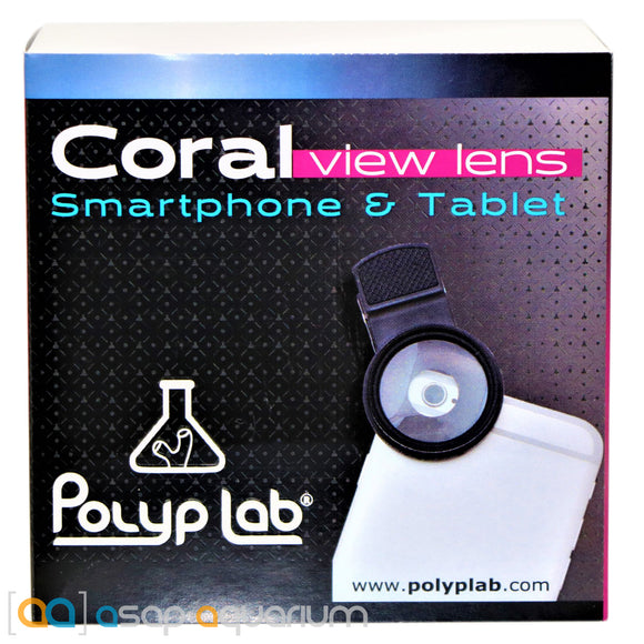 Polyp Lab Coral View Lens for Smart Phone or Tablet Cameras - ASAP Aquarium