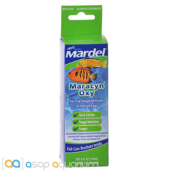 Mardel Maracyn Oxy Fungal Aquarium Medication 4 oz