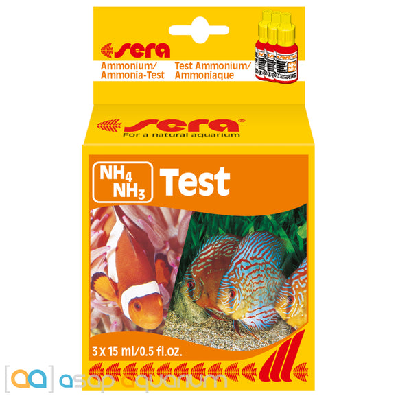 Sera Ammonia Test Kit - ASAP Aquarium