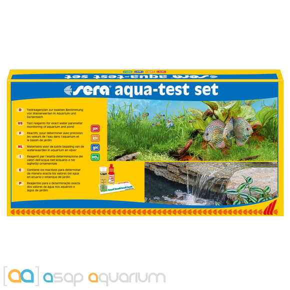 Sera Aqua Test Set Aquarium Test Kit - ASAP Aquarium