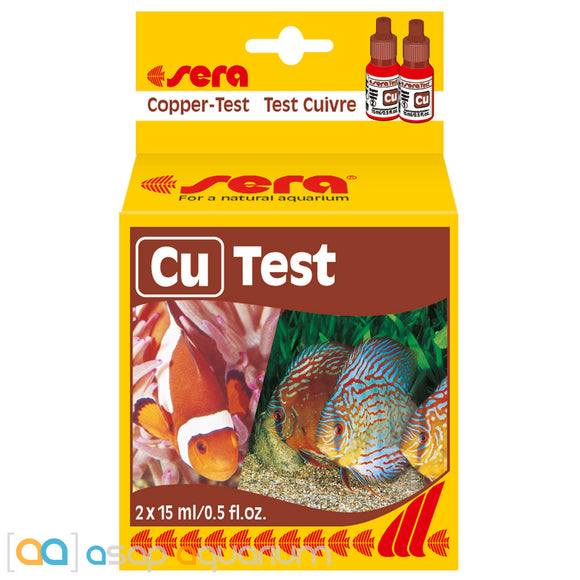 Sera Copper Test Kit - ASAP Aquarium