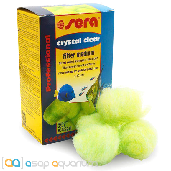 Sera Crystal Clear Professional Filter Media 12 Pieces - ASAP Aquarium