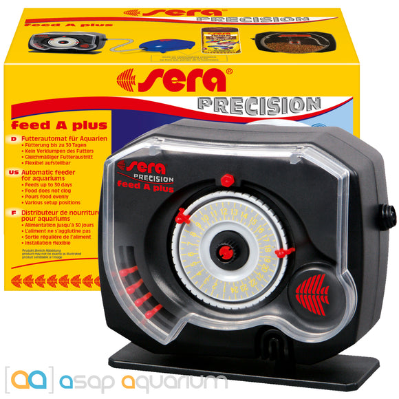 Sera Precision Feed A Plus Automatic Fish Feeder Battery Operated