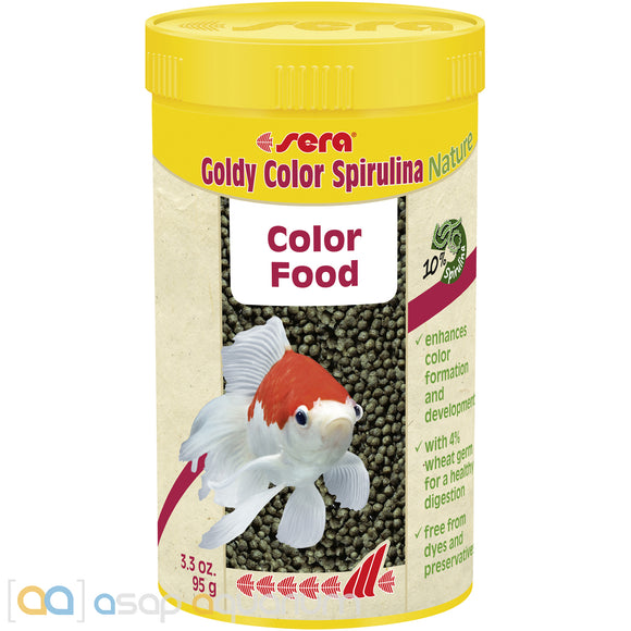 sera Goldy Color Spirulina Nature 250mL