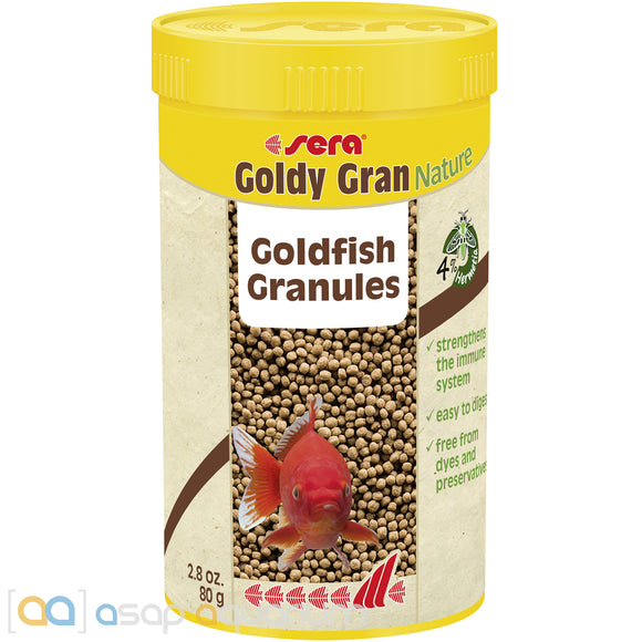 sera Goldy Gran Nature 250mL Goldfish Food Granules