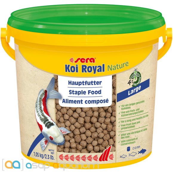 sera Koi Royal Nature Large 3800mL 6mm Pellets