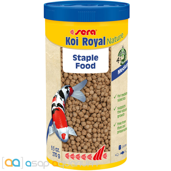 sera Koi Royal Nature Medium 1000mL 4mm Pellets