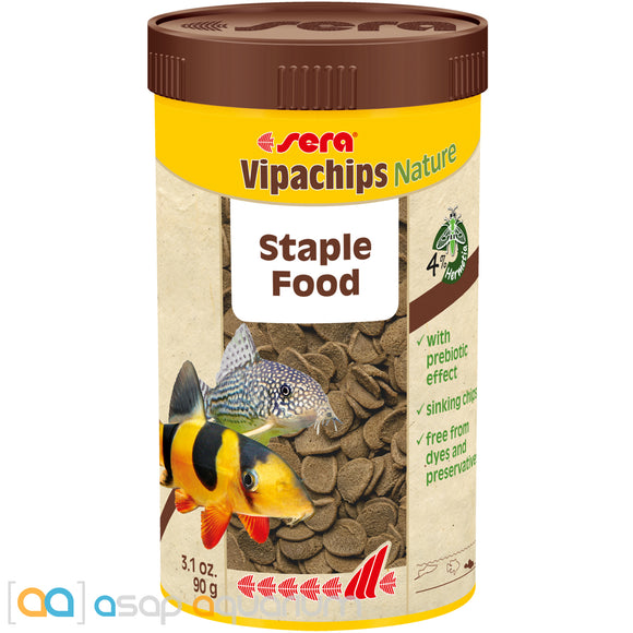Sera Vipachips Nature Fish Food Chips 250mL