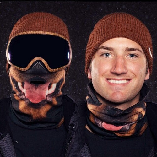 Beardo Rottweiler Ski Mask-For Skiers, Snowboarders and Snow Sports
