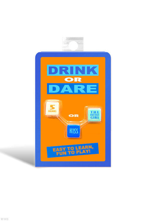 Drink Or Dare Dice Game - Adults Dreams