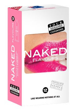 Naked Flavours Condoms 12 Pack - Adults Dreams