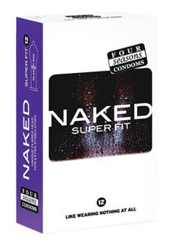 Naked Super Fit Condoms 12 Pack - Adults Dreams