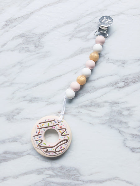 Teether | Pink Donut