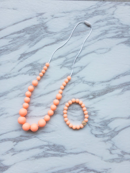 Teething Bracelet | Small Pearls