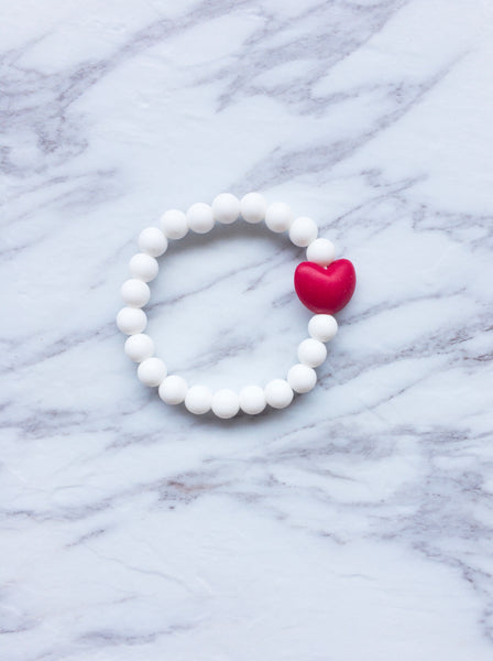 Teething Bracelet | Queen of Heart