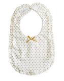 Baby Essentials | Alimrose Bib - Ruffle Edge Gold