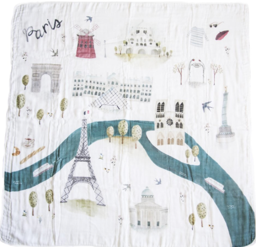 Baby Essentials | Swaddle - Paris