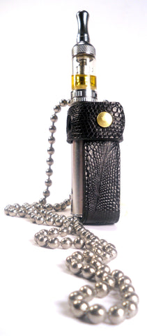 "THE ""ORIGINAL"" COSMIC LEATHER VAPING HOLSTER - VPH2 - GENUINE TEJU LIZARD"
