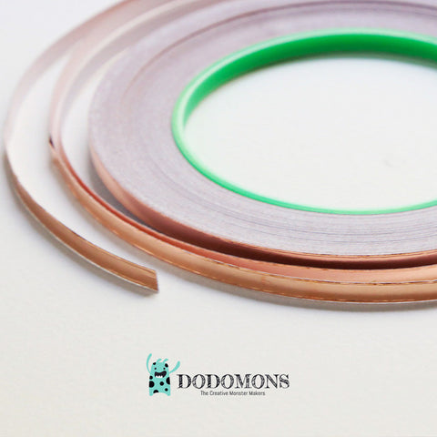 Copper Foil Tape (Circuit Sticker) - 5MM, 30 Meter