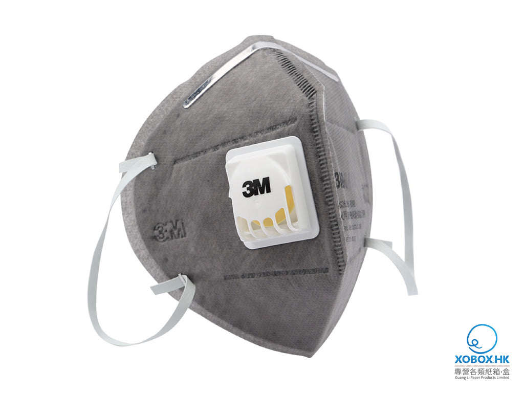 3M Active Charcoal Cold Flow Mask 3M活性炭冷流口罩