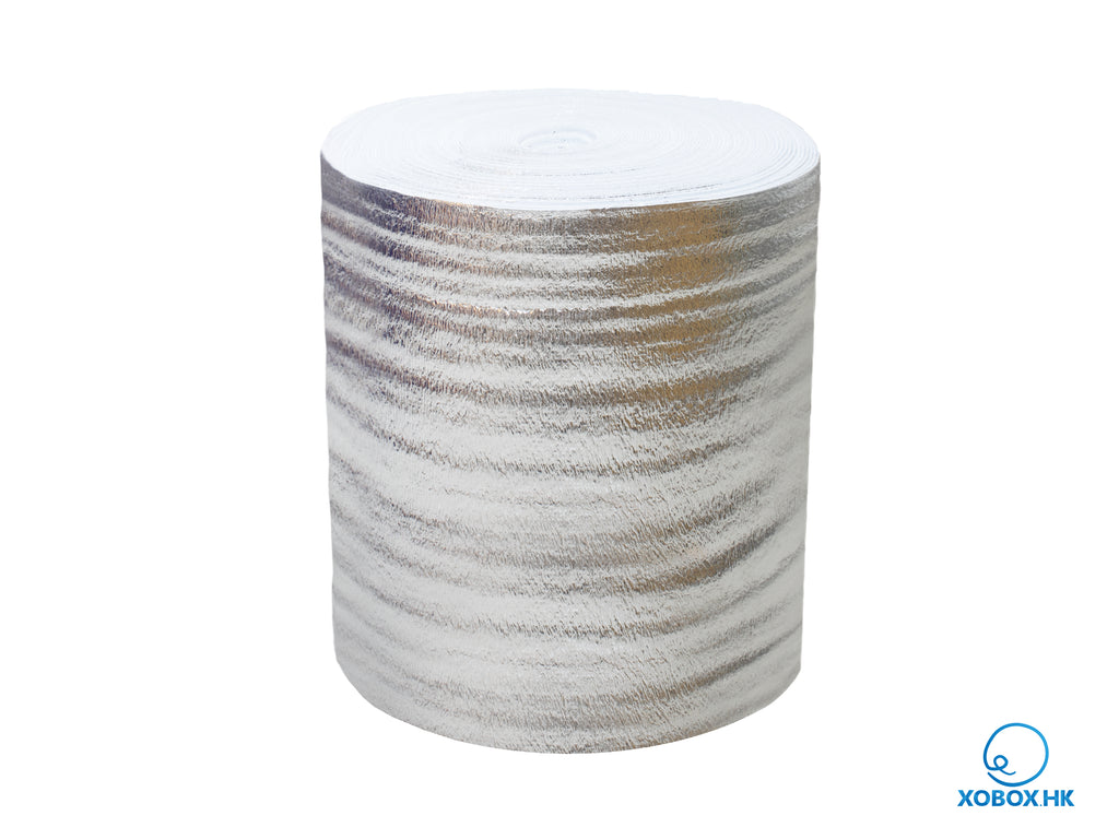 Aluminum Thermal Foil Insulation Roll 铝膜隔熱珍珠棉卷