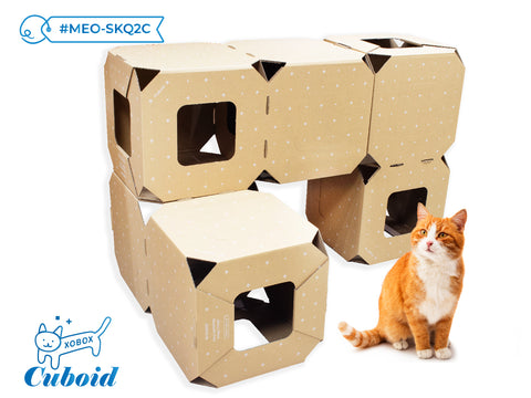 Meow Meow Stackable Cube Set 貓貓疊疊格系列