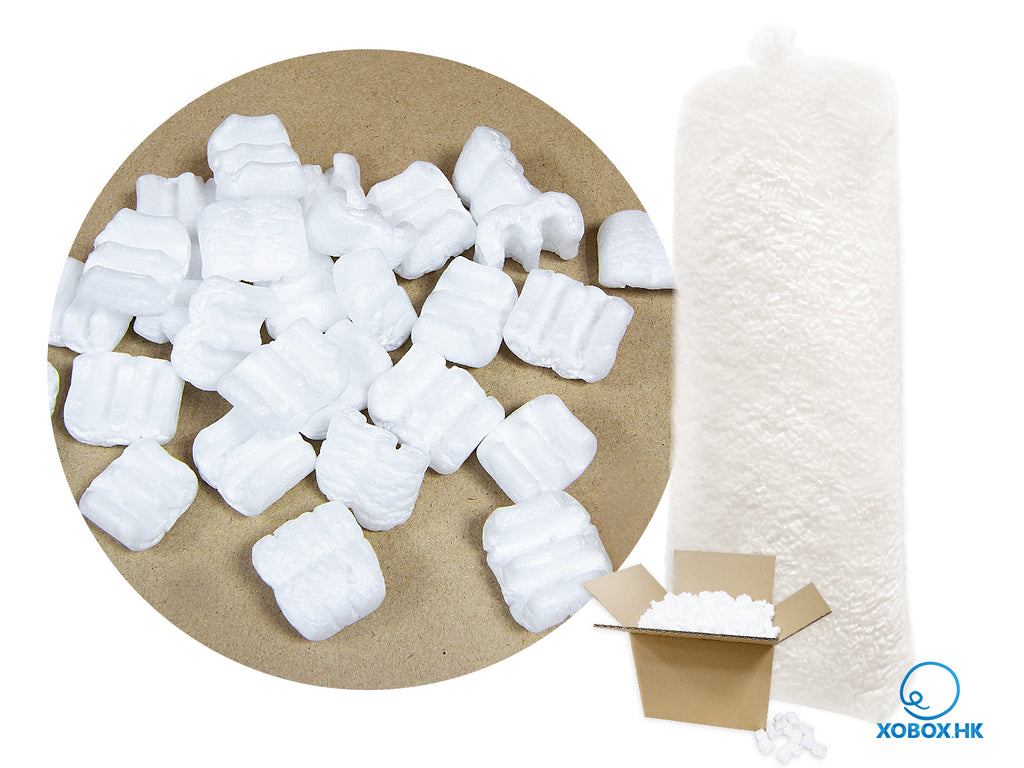 E Shape Polystyrene Packaging Filling Foam  E字包裝填充發泡膠粒