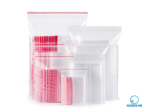 Ziplock Reclosable Transparent Plastic Bag 自封口透明塑料膠袋