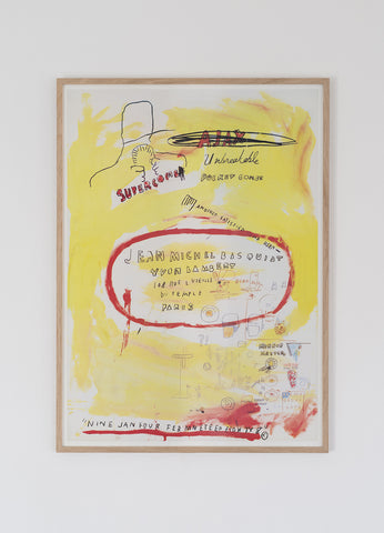 After Jean-Michel Basquiat - SOLD