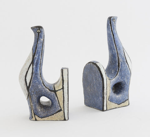 Ceramic Bookends 1950's - SOLD