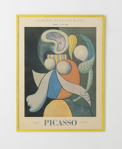 Picasso Exhibition Poster 1981 - SOLD