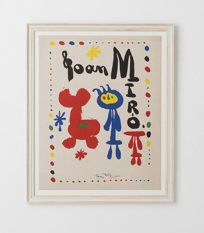 After Joan Miro 1955 - SOLD