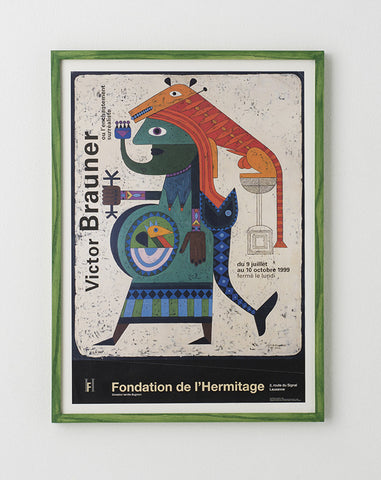 Victor Brauner Exhibition Poster - SOLD