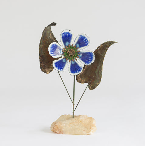 Curtis Jere Flower Sculpture 1968 - SOLD