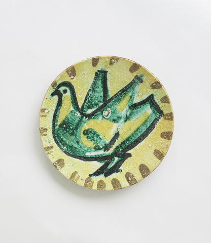 Ceramic Wall Plate - SOLD