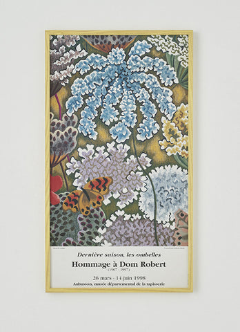 Dom Robert Vintage Exhibition Poster - SOLD