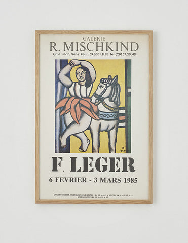Fernand Leger Exhibition Poster - SOLD