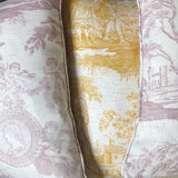 Neoclassical Pillows - Yellow