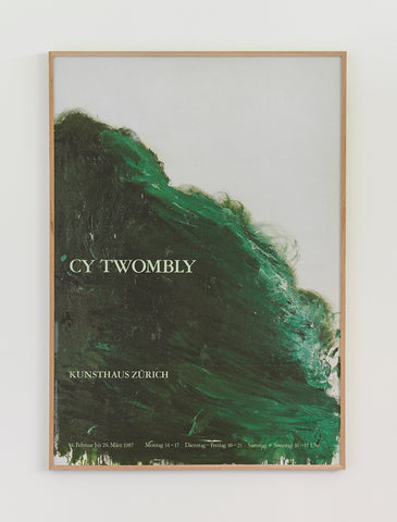 Cy Twombly Exhibition Poster 1987