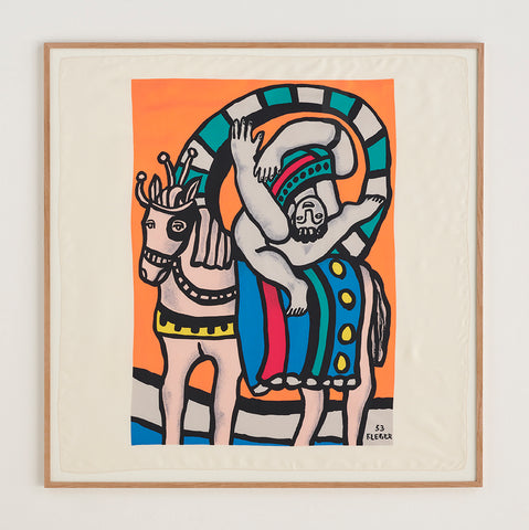 Fernand Leger Silk Scarf - SOLD