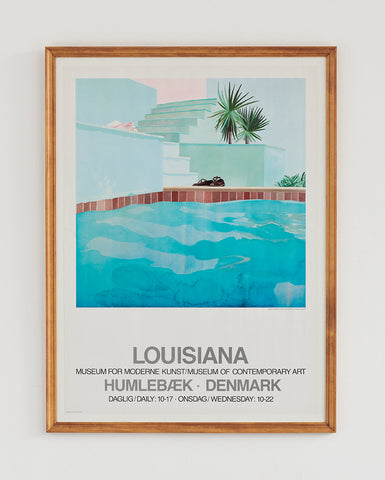 David Hockney Exhibition Poster 1976