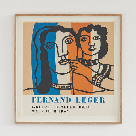 Fernand Leger Exhibition Poster 1964