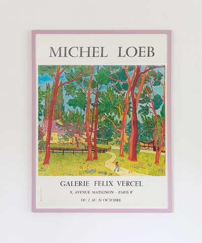 Michel Loeb Exhibition Poster