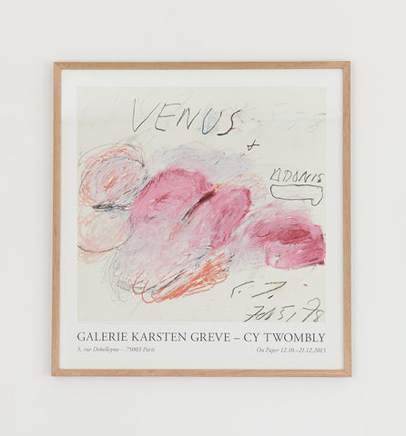 Cy Twombly Poster 2013