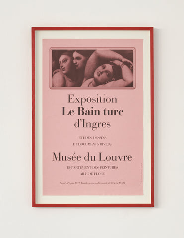 Ingres Exhibition Poster 1971