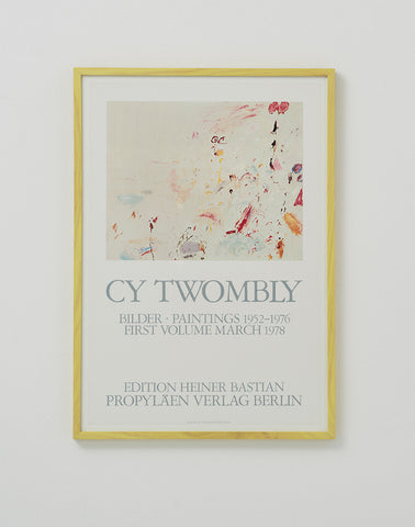 After Cy Twombly 1978 - SOLD