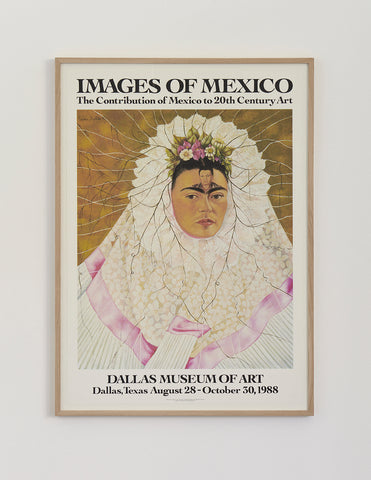 "Frida Kahlo Poster ""Diego On My Mind"" 1988"