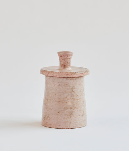 Ceramic Lidded Jar - SOLD