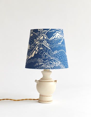 French Ceramic Table Lamp