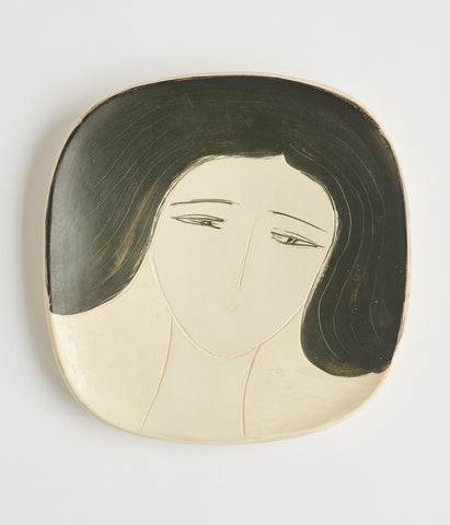 André Brasilier Wall Plate - SOLD